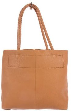 Maje Grained Leather Tote