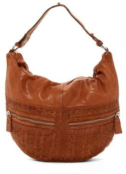 Liebeskind Berlin California Multi Pocket Woven Leather Hobo Bag