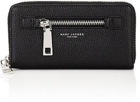 Marc Jacobs Women's Gotham Zip-Around Long Wallet - BLACK - STYLE