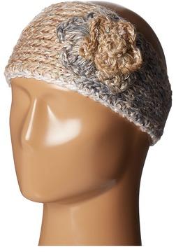 SCALA - Knit Headband w/ Flower Headband