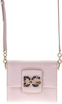 Dolce & Gabbana Dolce E Gabbana Women's Pink Leather Shoulder Bag. - PINK - STYLE