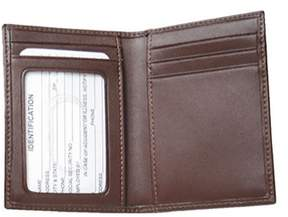 Royce Leather Unisex Card Case With Multi Windows 402-6.
