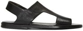 Marsèll Black Tost Sandals