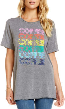 Chaser Coffee!!! Heathered Short-Sleeve Tee