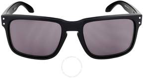Oakley Holbrook Sunglasses - Matte Black/Grey