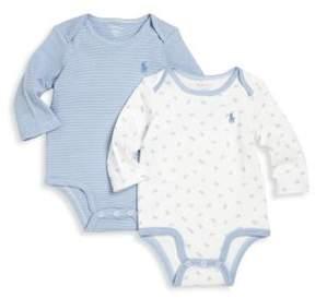 Ralph Lauren Baby's Two-Piece Bodysuit Set