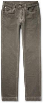Massimo Alba Slim-Fit Cotton-Velvet Trousers
