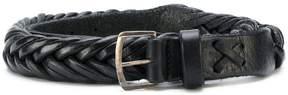 Golden Goose Deluxe Brand classic woven belt