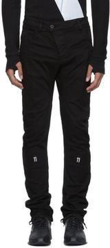 11 By Boris Bidjan Saberi Black 11 Branded Trousers