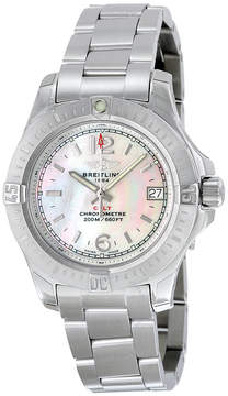 Breitling Colt Lady Mother of Pearl Dial Stainless Steel Quartz Ladies Watch