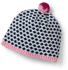 Lands' End Lands'end Girls Graphic Beanie