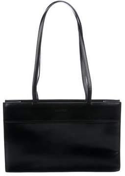 Calvin Klein Smooth Leather Shoulder Bag