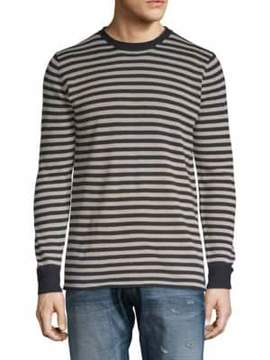Scotch & Soda Striped Crewneck Pullover
