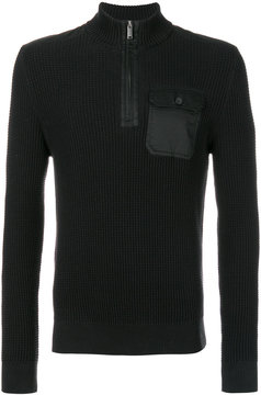 Michael Kors zipped collar sweater