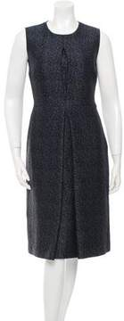 Calvin Klein Collection Wool Patterned Dress w/ Tags
