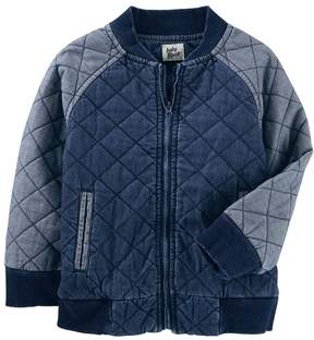 Osh Kosh Oshkosh Bgosh Toddler Boy Quilted Chambray Jacket