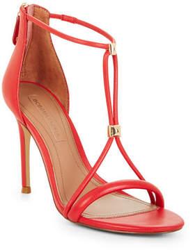 BCBGMAXAZRIA Nixie Studded Leather Sandal