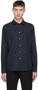 Paul Smith Navy Mushroom Shirt