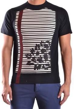 Antonio Marras Men's Black Cotton T-shirt.