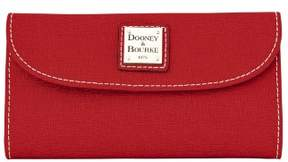 Dooney & Bourke Saffiano Continental Clutch Wallet - TERRACOTTA - STYLE