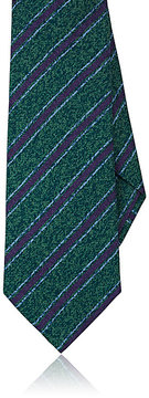 Kiton Men's Striped Silk Necktie