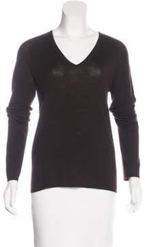 Agnona Wool V-Neck Sweater