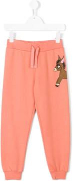 Mini Rodini donkey print sweatpants