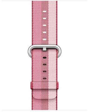 Apple 38mm Berry Stripe Woven Nylon