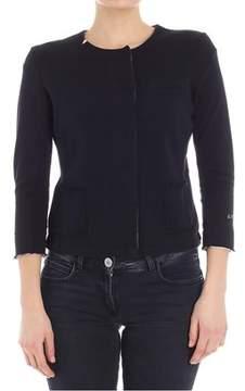 Sun 68 Women's Black Cotton Sweatshirt.