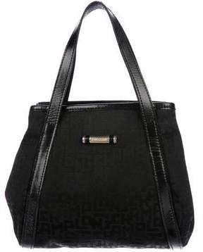 Longchamp Leather-Trimmed Mini Bag