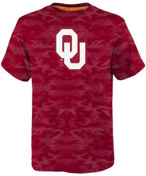 NCAA Boys 4-7 Oklahoma Sooners Vector Dri-Tek Tee