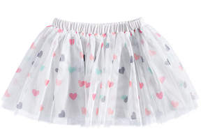 First Impressions Heart-Print Tutu Skirt, Baby Girls (0-24 months), Created for Macy's