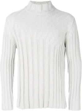 Jil Sander ribbed knit pullover
