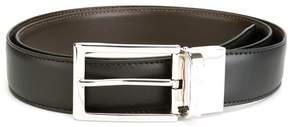 Ermenegildo Zegna silver-tone buckle belt