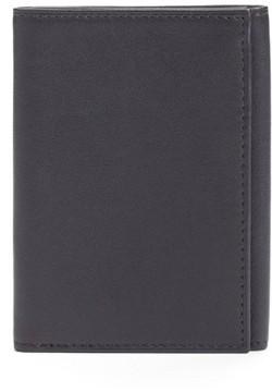 Bosca Men's Leather Trifold Wallet - Black