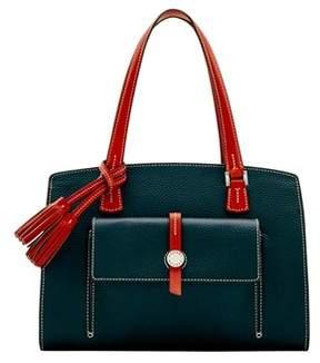 Dooney & Bourke Cambridge Shoulder Bag. - BLUEGREEN - STYLE