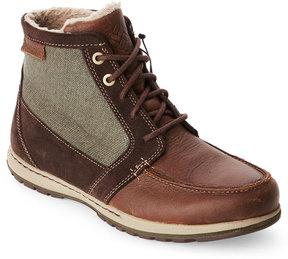Columbia Brown & Olive Davenport Moc Toe Boots