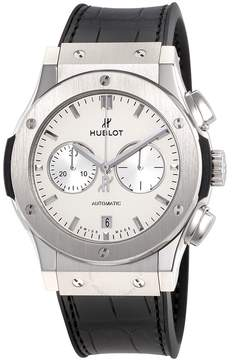 Hublot Classic Fusion Silver Dial Automatic Men's Chronograph Watch