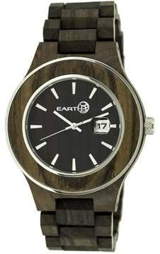 Earth Cherokee Collection ETHEW3402 Unisex Wood Watch with Wood Bracelet-Style Band