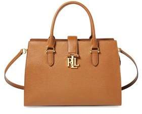 Lauren Ralph Lauren Leather Medium Brigitte II Satchel