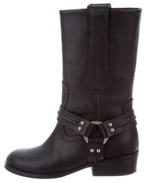 Proenza Schouler Mid-Calf Leather Boots