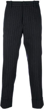 Paolo Pecora cropped pinstripe trousers