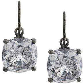 Bottega Veneta glass hook earrings