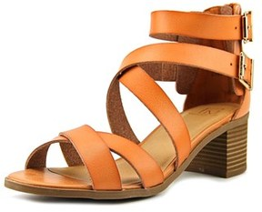 Material Girl Danee Open Toe Synthetic Sandals.
