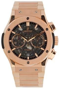 Hublot Classic Fusion 525.OX.0180.OX Chronograph Aero 18K Rose Gold 45mm Watch