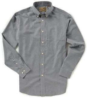 Roundtree & Yorke Gold Label Big & Tall Long-Sleeve Gingham Dobby Sportshirt