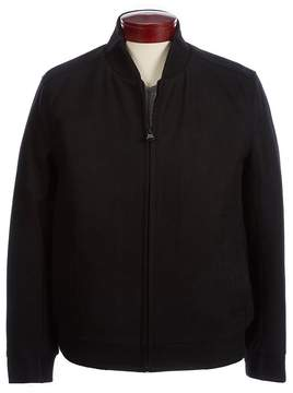 Andrew Marc Wool-Blend Baseball Jacket