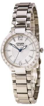 Citizen Women's Eco-Drive Diamond Stainless Steel Watch EP5970-57A