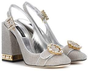 Dolce & Gabbana Crystal-embellished pumps