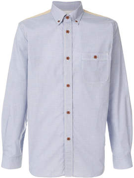 Junya Watanabe patchwork checked shirt